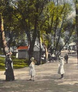 Rocky Springs Park around 1900