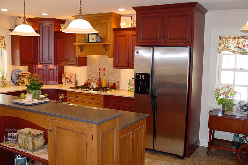 Carefully designed to be reminiscent of cabinetry found in the 1800's, this spacious, warm, and inviting kitchen is where we prepare your breakfast every morning.